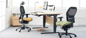 ergonomic office design. Ergonomic Office Design With Chair, Adjustable Desk, And Monitor Arm O